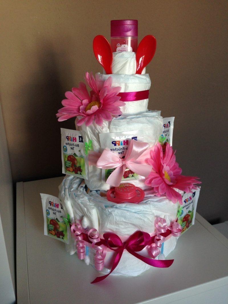 Gör blöja tårta - 18 söta idéer